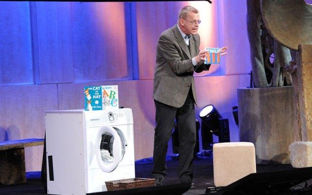 Rosling och tvättmaskinen